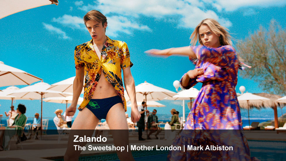 Zalando | The Sweetshop | Mother London | Mark Albiston