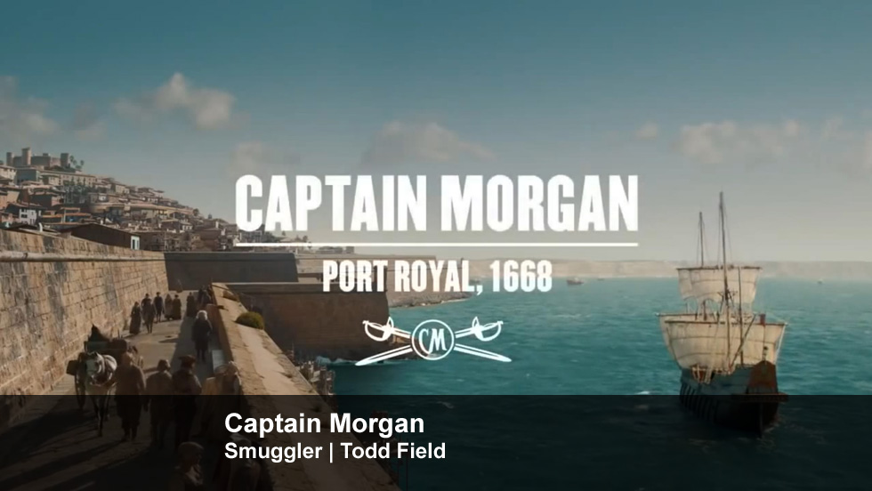 Captain Morgan | Smuggler | Todd Field