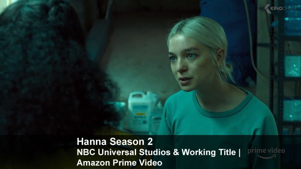 Hanna Season #2 | NBC Universal Studios & Working Title | Amazon Prime Video
